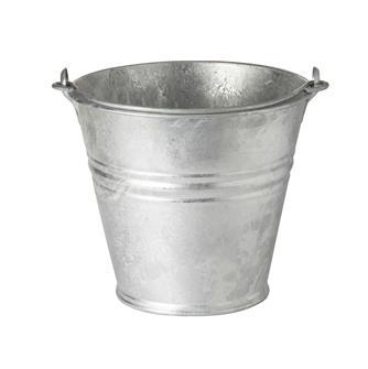 Seau en acier galvanisé de 8 litres