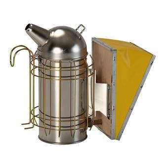Enfumoir pour abeilles acier chromé
