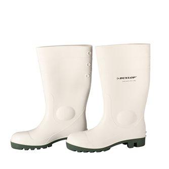 Bottes de sécurité blanches Dunlop taille 45.