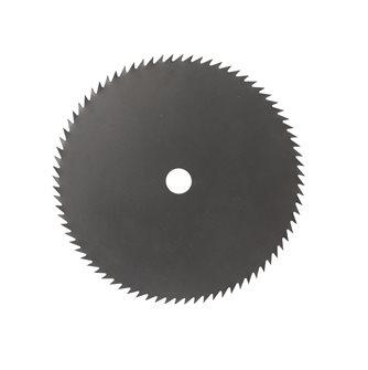 Lame de débroussailleuse 250 mm axe 20 mm 80 dents fabriquée en France