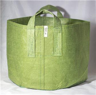 Pot géotextile à poignées vert olive 95 litres