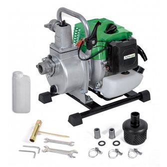 Motopompe thermique essence 2T 1,5 CV 42,7 cm3 8 m3/heure refoulement 30 mètres