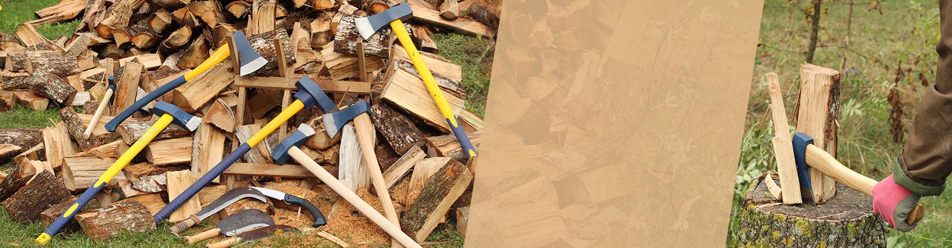 Couper et stocker le bois
